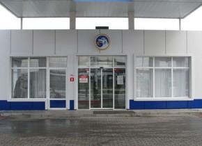 Операторная с автоматическими дверьми на АЗС ТНПС